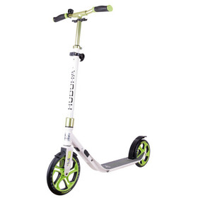 HUDORA CLVR City Scooter Kinder weiß/grün